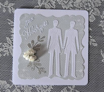 Hochzeitskarten für zwei Männer
