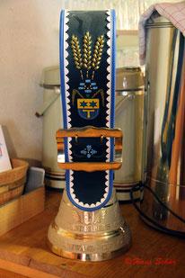 Die wunderschöne Glocke als Wanderpreis für den Sieger