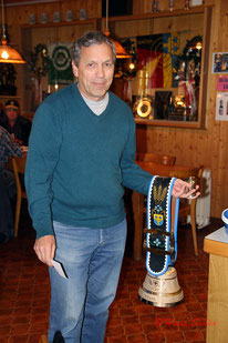 Der Sieger 2016 der Schützen-gesellschaft Trubschachen Hans-Peter Wittwer mit 50 Punkten