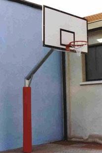 impianto basket pallacanestro imbottitura palo stileurbano