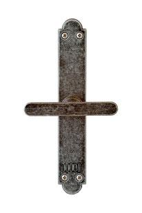 Kastenfensterbeschlag, Fensterbeschlag, Kreuzolive, Eisen schwarz antik