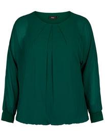grüne Bluse in grossen grössen