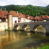 Mittelalterliches Städtchen St. Ursanne