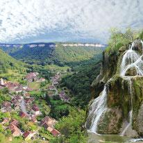 Wasserfälle am Dessoubre, tiefe Schluchten am Doubs und Lison