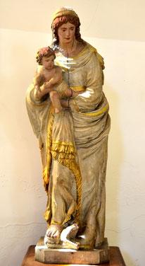 Vierge à l'Enfant-Eglise de St-Léger-les-Domart
