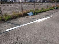 駐車場 ライン引き 矢印