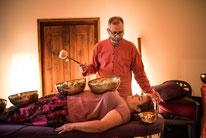 soin vibratoire bols Tibétains