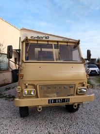Camion Saviem gendarmerie