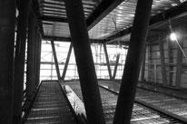 京橋のオフィスビル工事中
