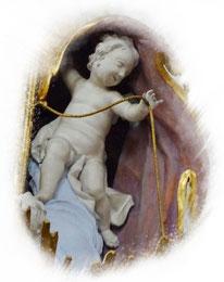 Kanzelengel, Basilika Vierzehnheiligen