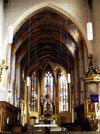 Chorraum der Trinitatiskirche, Langenzenn