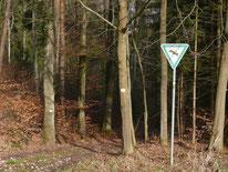 """Mit """"Gelbpunkt"""" nach Nuschelberg"""