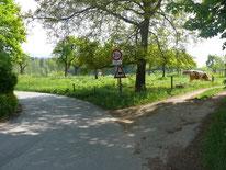 Ortsausgang Nuschelberg