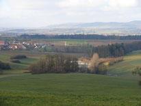 Aussicht auf Beerbach