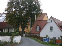 Oberschöllenbach - Straße Richtung Röckenhof