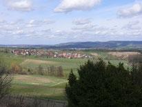Aussicht von Tauchersreuth