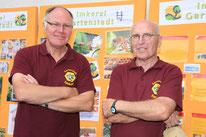 Unsere Imker, Guntram Hahn (l.) und Wilfried Krüger