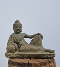 Ruhender Buddha. Breite 40cm. 120.- AUSVERKAUFT
