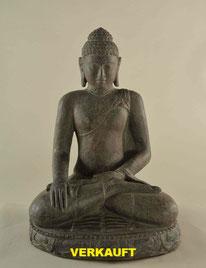 Buddha, Höhe 63cm, Breite 40cm. 1'500.- (Verkauft)