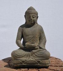 Buddha m. Kerzenhalter. Höhe 30cm. 65.- AUSVERKAUFT