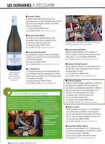 hors série Vins et tourisme 2015 Revue des vins de France