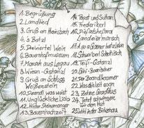 CD LandLeben Live - Inhalt
