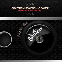 Porsche 911 Ignition Cover Outlaw