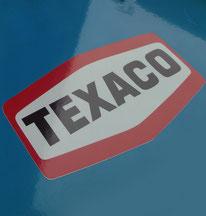 Texaco Vintage Sticker