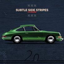 Porsche Racing Sticker Brumos Gulf Martini Carrera