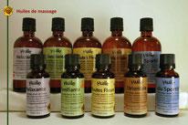 L'Essentielle. Huiles de massage ingrédients biologiques.