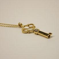 unser Schlüssel in Gelbgold 750