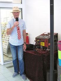 Moderator DJ Uckermark Bernd Winkler Kerkow Moderator A-Z Hoffmann Angerzentrum Angermünde
