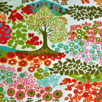 Trees Waterproof fabric
