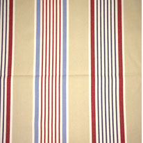 Nautical stripe fabric