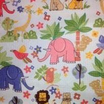 Safari Jungle Waterproof Fabric