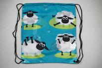 Chilino Backpacker Rucksack Schaf Schäfchen, blau