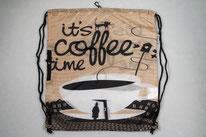 Chilino Backpacker Rucksack Coffee Kaffee Tasse, braun