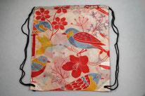 Chilino Backpacker Rucksack Nature Natur Vogel, rot, orange