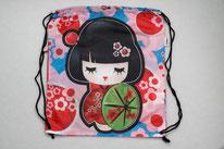 Chilino Backpacker Rucksack Manga Comic Asien, rosa