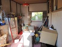 Before 荷物置きと化した昔の子供部屋