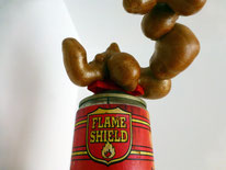 Flame Shield   sculptuur
