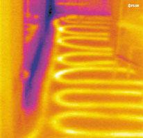 Thermographie Leckage Erkennung Fußbodenheizung
