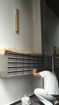 Pintores Barcelona. Precio pintar escalera cmunidd de propietarios. Pintor a Sarriá-Sant Gervasi