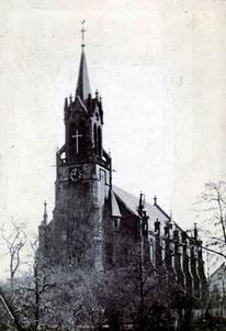 dudweiler, saarland, katholische kirche, maria himmelfahrt, st. marien, 1866