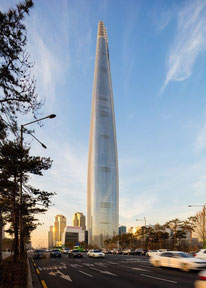 1. Lotte World Tower. Copyright Tim Griffith