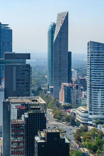 2. Platz: Torre Reforma in Mexico City, Mexico. Copyright Alfonso Merchand