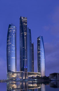 9. Etihad Tower 2 in Abu Dhabi, VAE. © DBI Design (Pty Ldt)