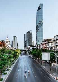 4. Platz: MahaNakhon in Bangkok, Thailand. Copyright Alexander Roan