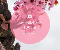 Amandelolie is een heerlijke verzorgende olie. Ook geschikt voor het maken van je eigen verzorgingsproducten.