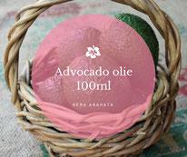 Advocado olie 100 ml voor het maken van je eigen recepten